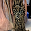 Thumbnail: Black Gold Off the Shoulder Embellished Jovani Dress 63349