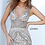 Thumbnail: Jovani 02798 Feather Bottom Embellished Evening Dress