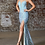 Thumbnail: Slim Fit Iridecent Sequin Gown