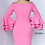Thumbnail: Jovani 02992 Knee Length Long Sleeve Dress