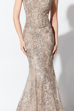 Ivonne D Exclusively for Mon Cheri Two Strap Evening Dress