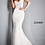 Thumbnail: JAVONI JB2493 Ivory Off the Shoulder Lace Wedding Dress