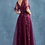 Thumbnail: By Kathy, Lace Beaded Flutter Sleeves Telle A-Line Gown