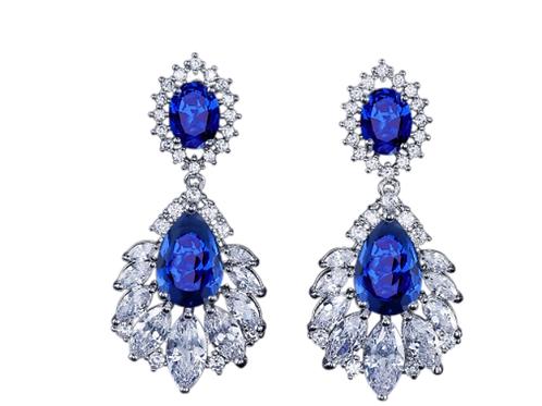 The Star Crystal Earrings