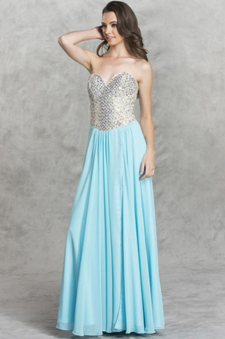 Sexy Long Evening Gown
