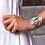 Thumbnail: Mignon Manley Western Turquoise Cuff Bracelet