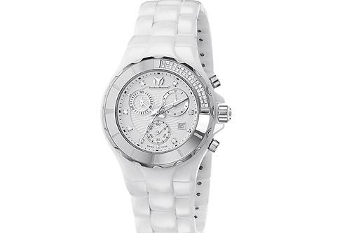 Technomarine Cruise Cronograph White Diamond Watch 110031C-777