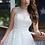 Thumbnail: Lace & Tulle A-line Ball Bridal Gown