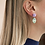 Thumbnail: Swarovski Crystals Tanzanite Earrings