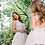 Thumbnail: White Nude Open Back Embellished Wedding Ballgown 37504