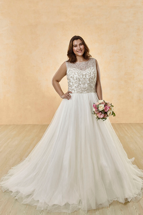 Mignon Manley OV2005 HAYDEN-OMÉLIE CURVY Bridal Gown