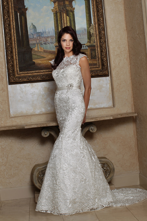 Classic Embroidered Bridal Gown