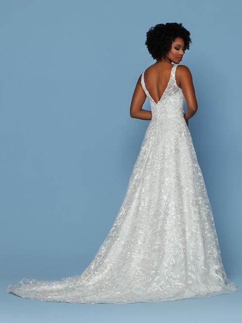 A-Line Lace Designer Bridal Gown