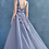Thumbnail: Christina Gown Night Rose Beaded Embriudered Sheath Gown