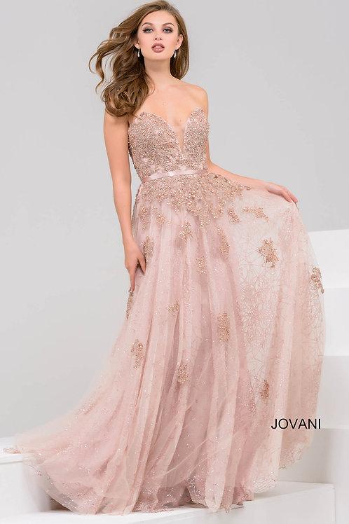 Cafe Sweetheart Neck Beaded Dress 93765