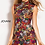 Thumbnail: JOVANI Color Embroidered Short Contemporary Dress