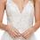 Thumbnail: Sheath A-Line Embroidery Beading Crystals Bridal Gown