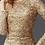 Thumbnail: Long Sleeve Lace Flare Dress W/ Boat Neckline