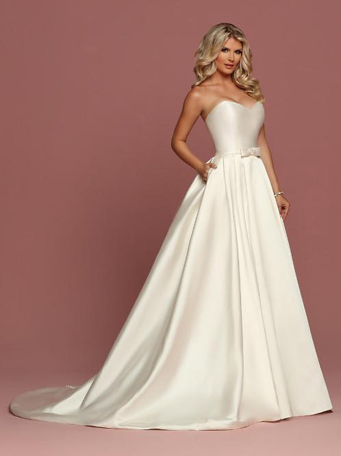 Stunning SATIN Designer Bridal Gown
