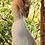 Thumbnail: Illusion Bateau Neck Chiffon Mermaid Bridal Gown