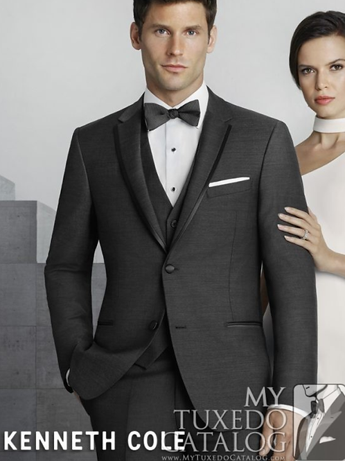 Kenneth Cole Steel Grey Brrow Tuxedo