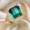 Thumbnail: 18K Gold 5.44CTNatural Tourmaline & Diamond Ring