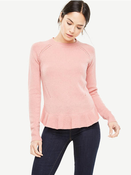 SWEATER, WOOL CASHMERE