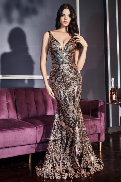 Cinderella Divine Glitter Mermaid Dress