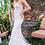 Thumbnail: JOVANI White Embroidered Strapless Bridal Gown JB37043