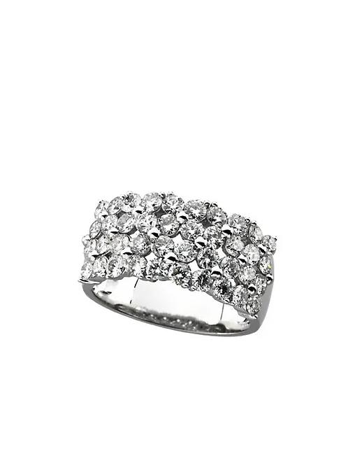 14K White 2 CTW Diamond Ring