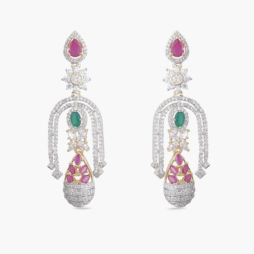 Pair Of Stunning Crystal Earrings