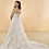 Thumbnail: Mignon Manley Halter Embellished Lace CURVY Bridal Gown