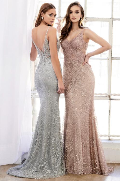 ANDREA & LEO Melanie Frozen Garden Gown