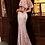 Thumbnail: Embellished Lace Sheath Evening Gown