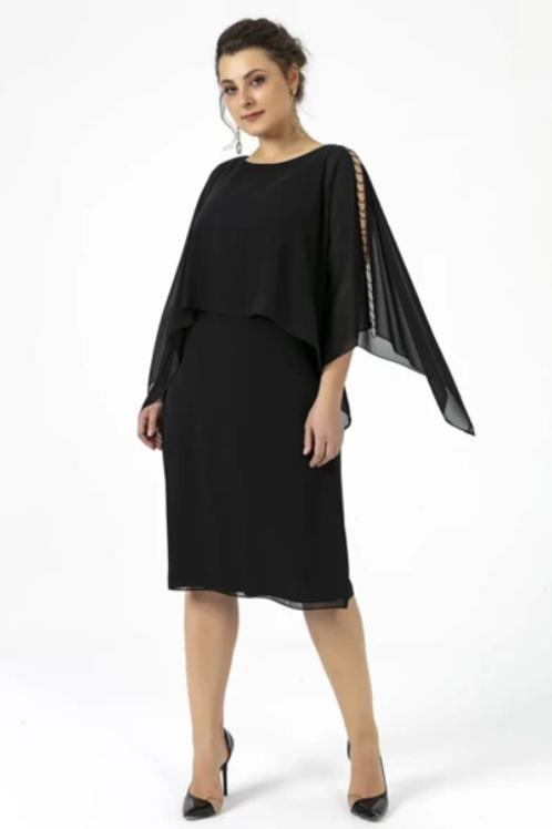 Sheath Long-Sleeve Cocktail Dress