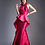 Thumbnail: Chiffon Beaded Top Sheath Gown