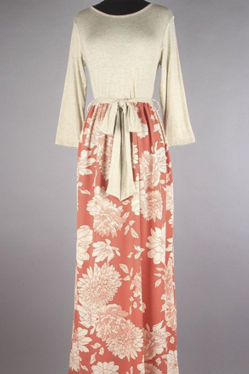 STUNNING RAYON MAXI DRESS