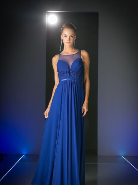 Chiffon Empire Waist Bridesmaid Dress