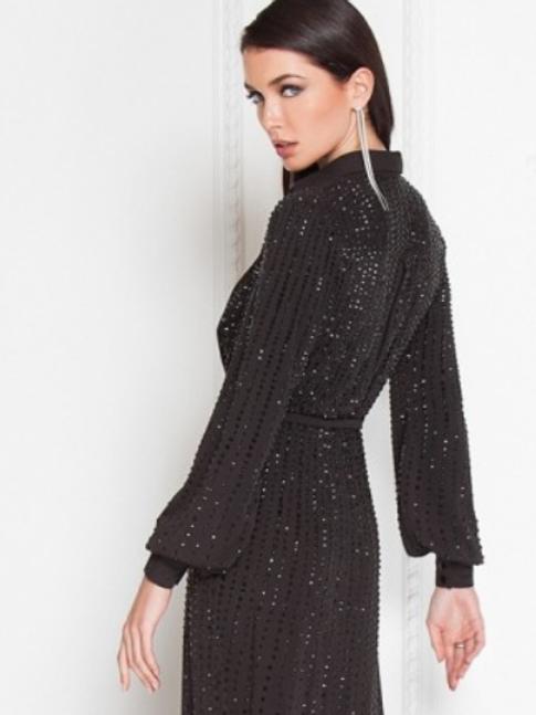 TERANI The Unltimate Sultery Black Gown