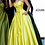 Thumbnail: JOVANI Yellow Strapless Sweetheart Neckline Satin Prom Gown 67847