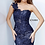 Thumbnail: Jovani 02445 One Shoulder Sweetheart Neck Evening Gown