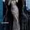 Thumbnail: Multi Sequin Long Sleeve High Neck Evening Dress 1756