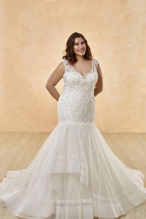 Mignon Manley OV2004 DIANAOMÉLIE CURVY Bridal Gown
