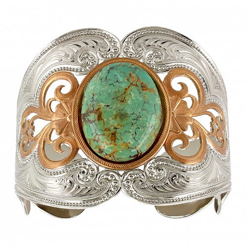 Mignon Manley Western Turquoise Cuff Bracelet