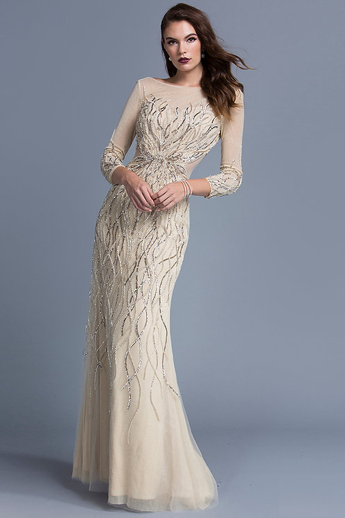 Elegant Long Evening Dress
