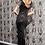 Thumbnail: Danaya Hand Embellished Shoulder Fringe Maxi Dress