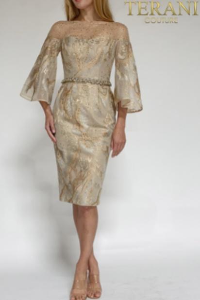 Terani Couture Splendid Masterpiece Dress 2111C4556