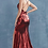 Thumbnail: Metalica Stretch Strap Gown