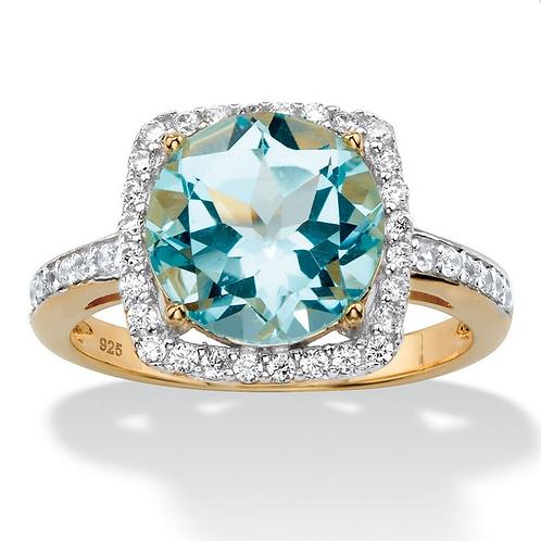Genuine Topaz Ring