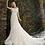 Thumbnail: Romantic Strap V-neck Fit & Flare Wedding Dress